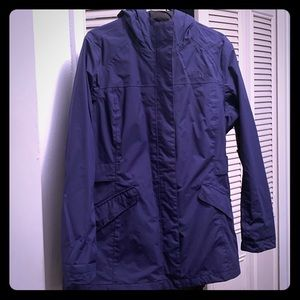 Raincoat womens The NorthFace -Size XL purple/blue
